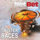 Play Twister at NetBet Poker to Win a Share of €25,000