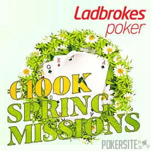 €100K Spring Missions at Ladbrokes