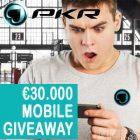 PKR Poker Mobile €30,000 Giveaway
