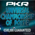 PKR Running a Universal Championship of Poker This Week