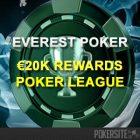 Everest Poker Launches €20,000 Rewards Poker League