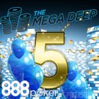 888Poker Celebrates Fifth Anniversary of Mega-Deep Event